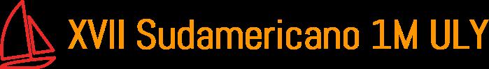 XVII Sudamericano 1MULY logo
